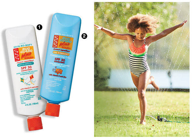 Avon Skin So Soft Water-resistant plus spf 30 Bug Guard Plus IR3535®